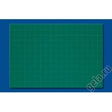 Мат профессиональный раскройный односторонний, толщина 3 мм, 62 х 90 см