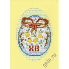 Набор для вышивания, открытка Светлый праздник