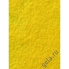 Лист фетра, 100% полиэстр, 30 х 45см х 2 мм/350г/м2, светло-желтый