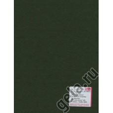 Лист фетра, 100% полиэстр, 30 х 45см х 2 мм/350г/м2, темно-зеленый