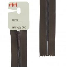 Молния металл крашеная неразъёмная, слайдер Tropf, 3 мм,18 см, цвет 2226, темный шоколад
