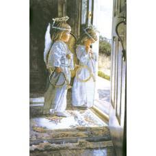 ECX Набор для вышивания Маленькие ангелы