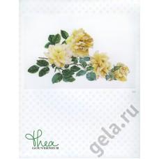 Набор для вышивания Роза Мира, канва аида 18 ct