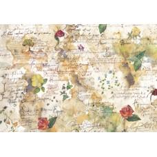 Бумага рисовая Цветы и поэзия
