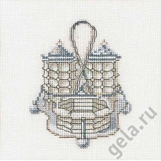 Набор для вышивания Соль & Перец, канва лён 36 ct