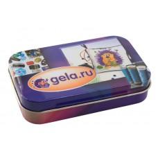 Металлическая коробочка для  мелкой фурнитуры gela.ru