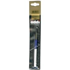 Крючок, вязальный с пластиковой ручкой, №6, 15 см