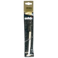 Крючок, вязальный с пластиковой ручкой, №4,5, 15 см