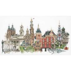 Набор для вышивания Амстердам, канва лён 36 ct
