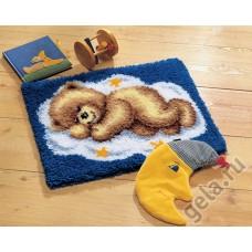 Коврик Спящий мишка набор ковровой техники, 2565/38.012