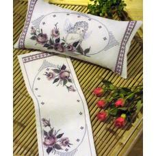 Набор для вышивания, подушка Ангел