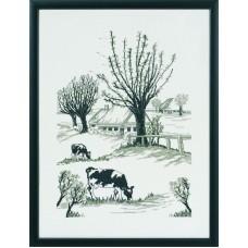 Набор для вышивания Коровы