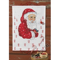 Набор для вышивания, календарь Санта