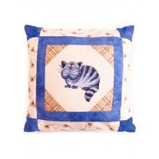 Набор для вышивания, наволочка для подушки Кот - баюн