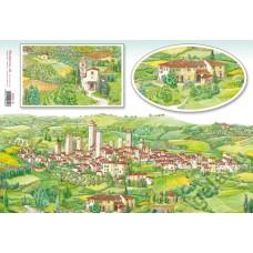 Бумага рисовая Тосканская деревня