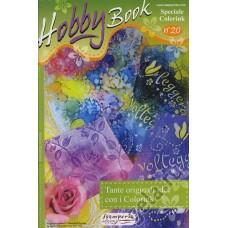 Журнал Hobby Book, оригинальные идеи с красками Colorink