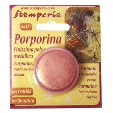 Порошок Porporina для затирания трещин и золочения, 17 мл