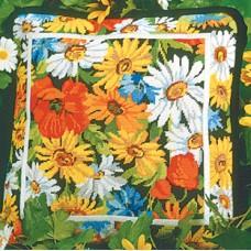 NP Набор для вышивания, подушка  Маргаритки и маки
