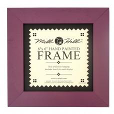 Рамка деревянная цвет фиолетовый