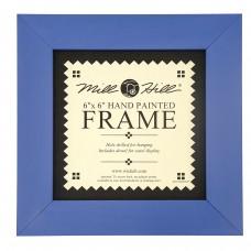 Рамка деревянная цвет синий