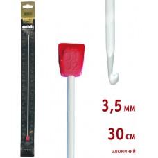 Крючок вязальный,Тунисский, алюминий, №3,5, 30 см