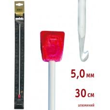 Крючок вязальный,Тунисский, алюминий, №5, 30 см