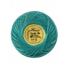 Мулине Finca Perle(Жемчужное), №8, однотонный цвет 3664