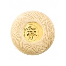 Мулине Finca Perle(Жемчужное), №8, однотонный цвет 3000