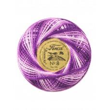 Мулине Finca Perle(Жемчужное), №8, мультиколорный цвет 9500