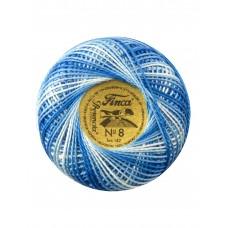 Мулине Finca Perle(Жемчужное), №8, мультиколорный цвет 9640