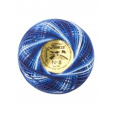 Мулине Finca Perle(Жемчужное), №8, мультиколорный цвет 9725