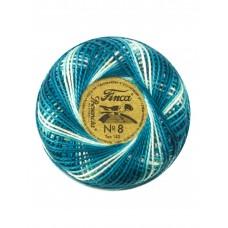 Мулине Finca Perle(Жемчужное), №8, мультиколорный цвет 9770