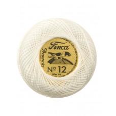 Мулине Finca Perle(Жемчужное), №12,однотонный цвет 0001