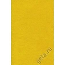 Лист фетра, желтый, 20 х 30 см х 1мм, 120 гр/м2