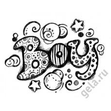 Деревянный штамп Надпись Boy