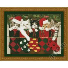 Набор для вышивания Рождественские носки
