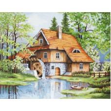 Набор для вышивания Весенний пейзаж, Luca-S
