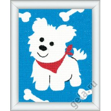 Набор для вышивания Собачка (для начинающих) 1320/2572