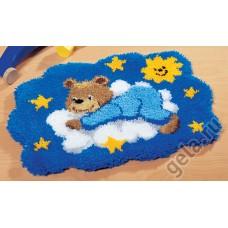 Коврик Медвежонок на облаке набор ковровой техники 2566/37.066