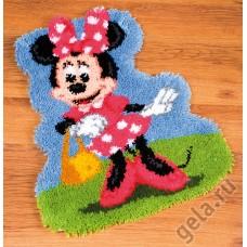 Набор для вышивания коврика Минни Маус