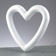 Форма из пенопласта Сердце, 15 см