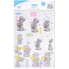 Набор бумаги с высечкой  Пасхальный кролик ME TO YOU