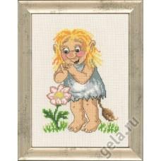Набор для вышивания Девочка тролль