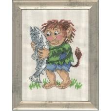 Набор для вышивания Мальчик тролль