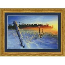 Набор для вышивания Зимний закат
