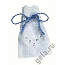 Мешочек набор для вышивания в технике Хардангер