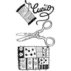 Штапм силиконовый Креативное шитьё