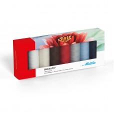 Набор с нитками Seralon  в подарочной упаковке, 8 катушек