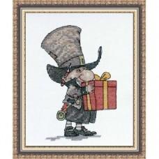 Набор для вышивания Джентельмен с подарком