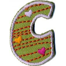 Термоаппликации HKM Буква С цветная, 5 шт